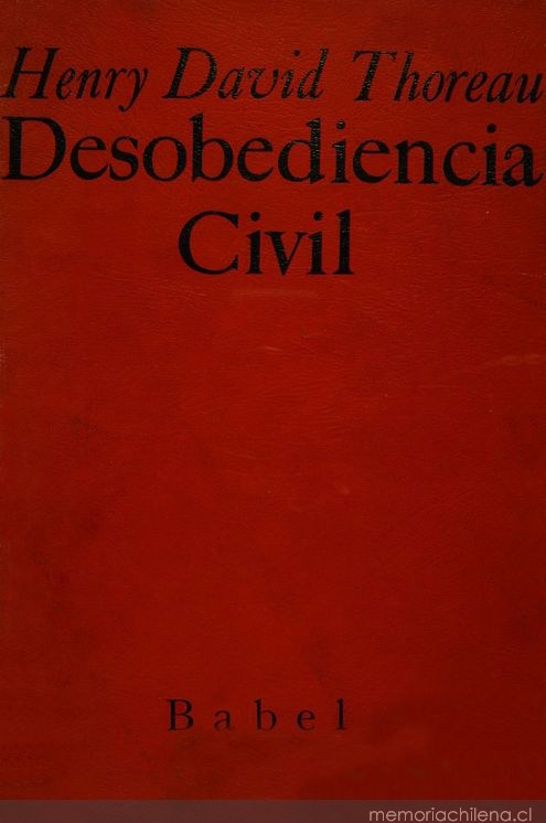 Desobediencia civil - Copy